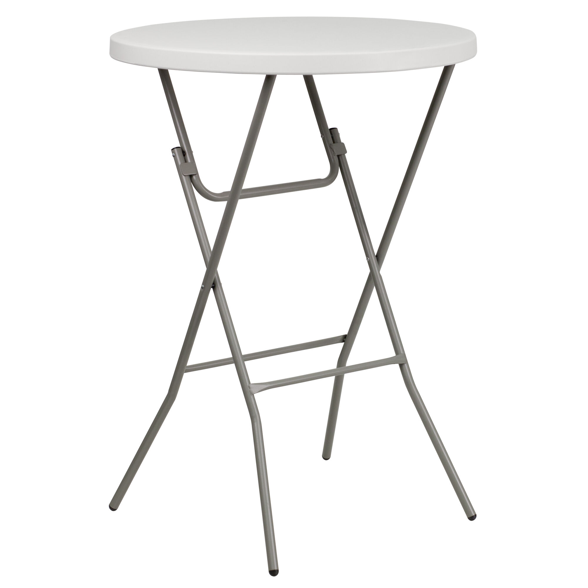 Magnificent 3 Foot Round Granite White Plastic Bar Height Folding Table Pabps2019 Chair Design Images Pabps2019Com