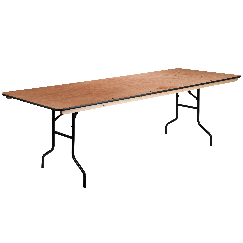 - 36x96 Wood Fold Table XA-3696-P-GG FoldingChairs4Less.com