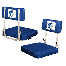 Duke University Team Logo Hard Back Stadium Seat