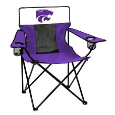 Kansas State University Team Logo Elite Folding Chair