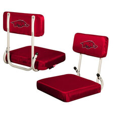 University of Arkansas Team Logo Hard Back Stadium Seat