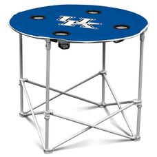 University of Kentucky Team Logo Round Folding Table