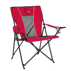 University of Louisville Team Logo Game Time Folding Chair