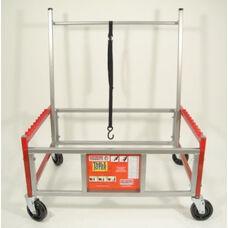 Steel Flagship Ergonomic Table Toter Junior for Rectangular Folding Tables - 37
