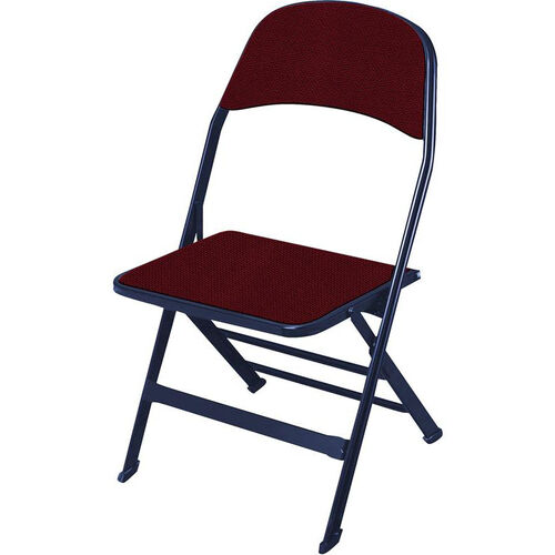 Our 2000 Series Fabric Upholstered Seat and Back Folding Chair with 14.25