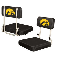 University of Iowa Team Logo Hard Back Stadium Seat