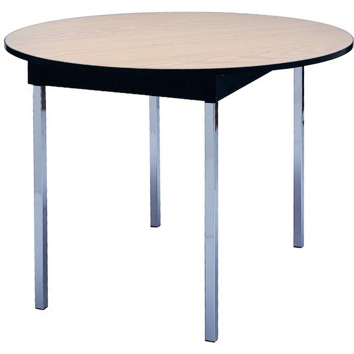 Round Conference Table DLDELRDVFE FoldingChairsLesscom - 72 round conference table