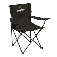 Vanderbilt University Team Logo Folding Quad Chair