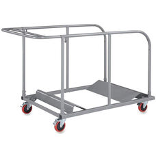 Lorell Round Table Trolley Cart 32.8