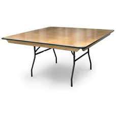 Square plywood folding table 70100 foldingchairs4less 48 square plywood folding table with locking wishbone style legs watchthetrailerfo