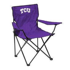 Texas Christian University Team Logo Folding Quad Chair