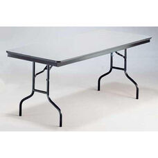 EP Series Long Rectangular Plywood Core Folding Table - 30