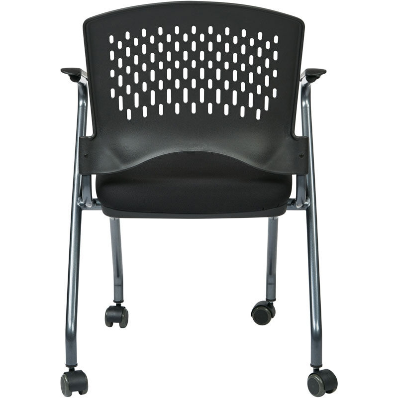 ... Our Pro-Line II Deluxe Folding Chair with Ventilated Plastic Wrap Around Back - Set ...  sc 1 st  Folding Chairs 4 Less & Set of 2 Pro Line II Folding Chair 84330-30 | FoldingChairs4Less.com