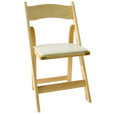 American Classic Wood Folding Chair - Set of 4 - Natural Wood