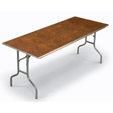 E Series Rectangular Plywood Core Folding Table - 30