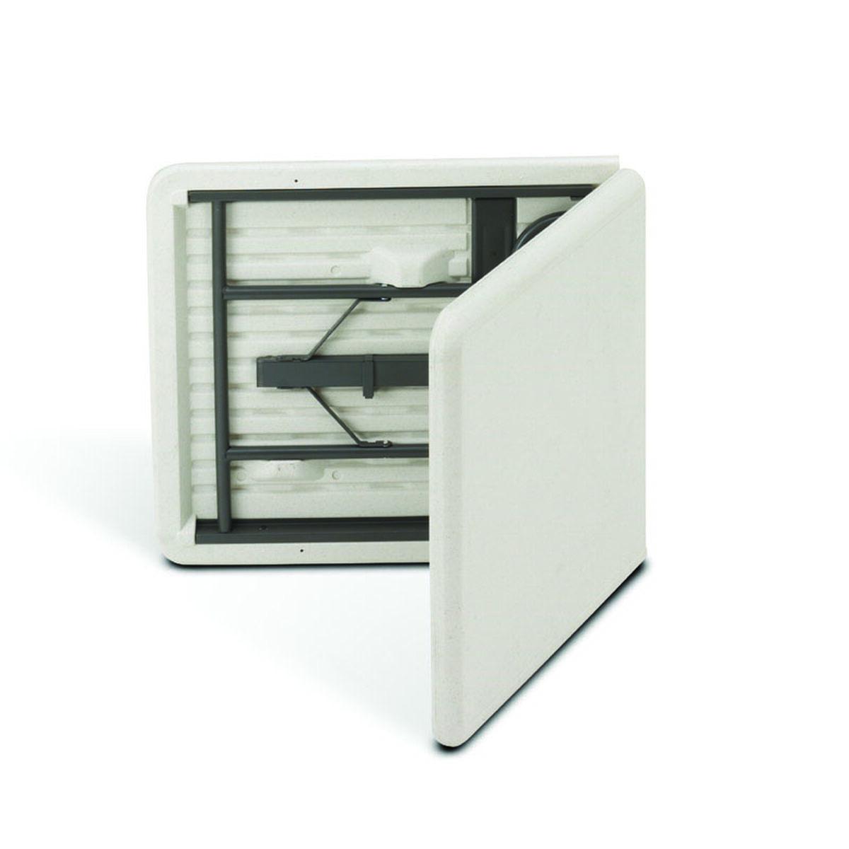 Center folding table plastic 65453 foldingchairs4less our indestructable too 30 w x 60 d bi fold rectangular watchthetrailerfo