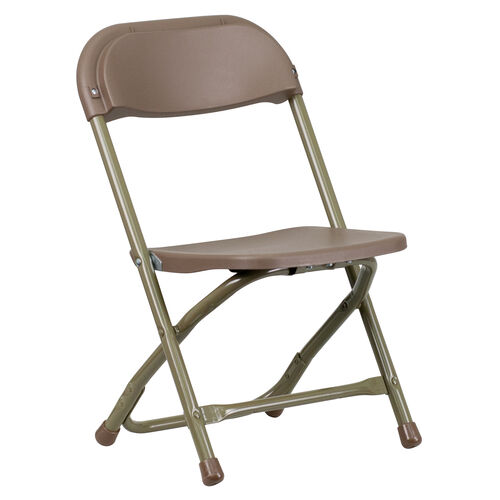 Our Kids Brown Plastic Folding Chair is on sale now.