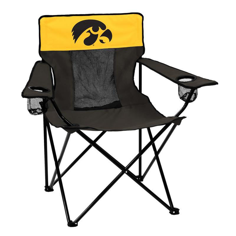 Our University Of Iowa Team Logo Elite Folding Chair Is On Sale Now.