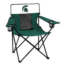 Michigan State University Team Logo Elite Folding Chair
