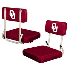 University of Oklahoma Team Logo Hard Back Stadium Seat