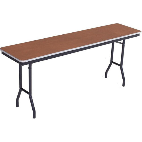 Our Sealed and Stained Plywood Top Table with Aluminum T - Molding Edge - 24