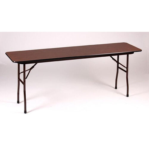 Our Fixed Height Rectangular Melamine Top Folding Table - 18