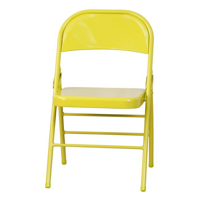 Twisted Citron Folding Chair Hf3 Citron Gg